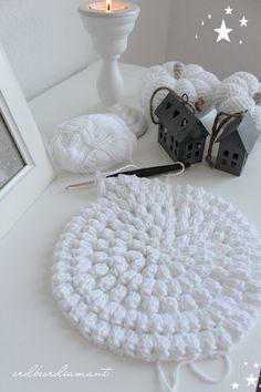 lovely white crochet