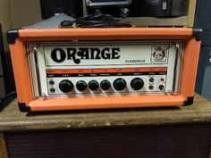 Destroy your neighbors and be that band that everyone hates in your practice warehouse with this Orange OR120 Overdrive from the mid 1970s. I was told around 1975, but I do know for sure. Made in England, this beast will rip through your audience's doomed soul. This amp is loud and dirty, but it does have the ability to clean up if you roll down the gain on the low input channel. I've only owned this for half a year and it's been used at practice and for two local Bongripper...