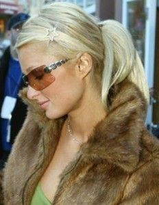 Paris Hilton Ponytail