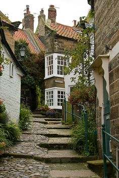 Robin Hood's Bay, England  Love it here.....last time we visited I was seven months pregnant with my son. That was 9 years ago this summer.........must go back soon x