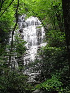 North Georgia water fall