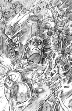 Wildcats by Jim Lee Easily one of my favorite artists and biggest inspirations