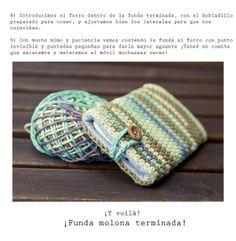 Crochet cellphone cover