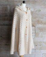 Long Hooded Cape Crochet Pattern [PB137] - $8.50 : Maggie Weldon, Free Crochet Patterns