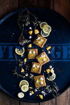 Galletas de lemon curd y cardamomo con merengue - Bake-Street.com