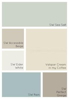 How to Choose Interior Paint Colors for Your Home - Simple Made Pretty - Our Paint Colors Interior Painting Ideas, Home Paint Colors, Home Painting Ideas, Best Blue Paint Colors, Calming Paint Colors, Taupe Paint Colors, Cottage Paint Colors, Interior House Paint Colors, Painted Interior Doors