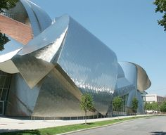 Peter B. Lewis Building by Frank Gehry located in Cleveland, Ohio on the Case Western Reserve campus.