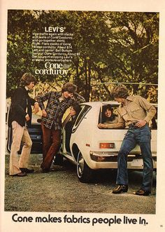 Original Print Ad 1972 Levis Cone Makes Fabrics People Live In Stop Traffic Retro Advertising, Vintage Advertisements, Vintage Jeans, Vintage Outfits, Vintage Clothing, Old Ads, Aesthetic Vintage, My Memory, Print Ads