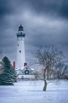 #Lighthouse - ready for Christmas!    http://dennisharper.lnf.com/