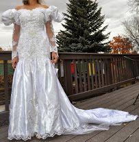 Wedding Dress In MVLSDS Garage Sale Havre MT