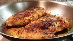 Chicken may be the ubiquitous of meats, and the boneless, skinless breasts the most ubiquitous of chicken cuts.  They are pretty cheap, very versatile, and just about everyone likes them…if they are cooked well.  In this video, I'm going to show my favorite way to cook boneless chicken breasts.