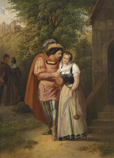 Faust and Marguerite by Ernst Neïzvestny