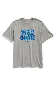 Boy's Nike 'Wild Game' Cotton T-Shirt