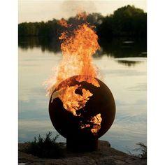 Fancy - Earth Globe Fire Pit