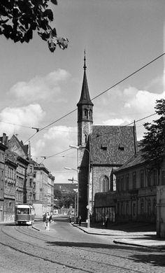 Kostel Panny Marie Na slupi (4671-2), Praha, srpen 1966