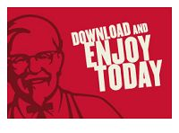 There are some new deals to be eaten on the Colonel's Club App by KFC Canada! Valid between April 11 and April you can enjoy the family deal and Kfc Coupons, Online Coupons, Print Coupons, Kfc Offers, Kfc Canada, Fast Food Places, Restaurant Deals, Kentucky Fried, Free Printable Coupons