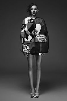 Fendi - Resort 2015. Model: Binx Walton.