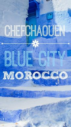 Discovering Chefchaouen the Blue City of Morocco. Morocco has long been on our list of destinations to visit, so it should come as no surprise to you that we already knew something about the famous blue city of Morocco, Chefchaouen. This is a small city located in the northwestern part of Morocco near the Riff Mountains. http://www.divergenttravelers.com/discovering-chefchaouen-the-blue-city-of-morocco/