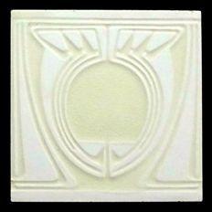 Peter Behrens for Villeroy & Boch - Art Nouveau Tile