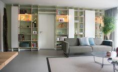 Shelving, Divider, Interior Design, Room, Furniture, Home Decor, Shelves, Nest Design, Bedroom