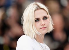 """Kristen Stewart attends the """"Cafe Society"""" Photocall  during The 69th Annual Cannes Film Festival on May 11, 2016 in Cannes, France."""