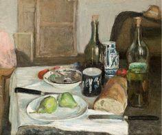 Matisse - Still Life with black knives,1896