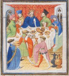 """Suisse Lieu: Genève Bibliothèque / Collection: Bibliothèque de Genève Cote: Ms. fr. 77 Titre du manuscrit: """"Histoire romaine"""" de Tite-Live traduite en français par Pierre Bersuire Caractéristiques: Parchemin · (I-II) + 450 + (III-IV) ff. · 45.5 x 32 cm · France (Paris) · début du XVe siècle Langue: Français - http://www.e-codices.unifr.ch/fr/bge/fr0077/86r"""