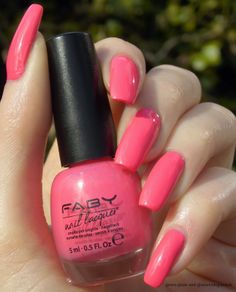Green, Glaze & Glasses: Faby Fabulous Collection - Hula Hoop Pink