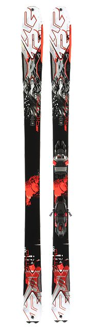 AMP Rictor 90XTI | K2 Skis  This winter's most wanted buddy for the powdery days! #allmountain #K2amprictor90 #theperfectalpcompanion