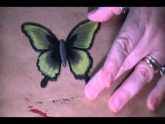 ▶ Butterfly Easy Chisel blend technique - YouTube#t=442