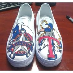 I so want my shoes done like this