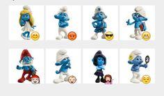 Smurfs Stickers Set | Telegram Stickers