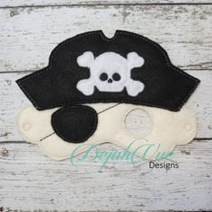 Captain Pirate Mask