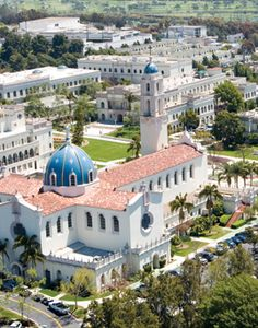 University of San Diego, California.  I was accepted here for college but opted to attend elsewhere.  It remains one of the most beautiful campuses I have ever seen.