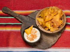 Smeltet cheddarsaus Frisk, Tex Mex, Nachos, Cheddar, Guacamole, Cantaloupe, Dips, Pineapple, Mexican