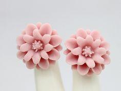 8 Pcs 18mm Wholesale Beautiful Colorful Chrysanthemum Flower Cabochon - -18mm (CAB-JA -9)