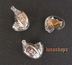 $43.00 - Repair Parts-Housing Shell Crust For Shure SE535 Noise Sound Isolating Earphone Coffee - LS001663 -