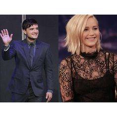 "@panem_propaganda's photo: ""We've just updated the site with #jenniferlawrence #joshhutcherson and #liamhemsworth 's latest talk show appearances including @teamcoco @latenightseth & more! Link in bio."""