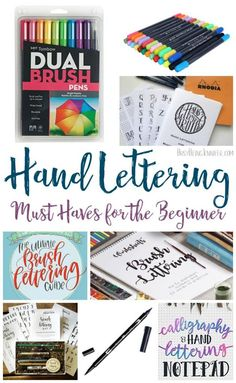MUSTS for the Beginner Hand Lettering MUSTS for the Beginner! If you want to try hand lettering then check these out!Hand Lettering MUSTS for the Beginner! If you want to try hand lettering then check these out! Hand Lettering For Beginners, Calligraphy For Beginners, Hand Lettering Tutorial, Hand Lettering Practice, Hand Lettering Alphabet, Learn Calligraphy, Doodle Lettering, Creative Lettering, Lettering Styles