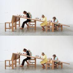 Growth Table le bureau de croissance par Tim Durfee et Iris Anna Regn - Blog Esprit Design
