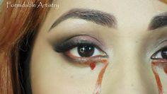 True Blood inspired makeup