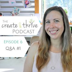 CT Podcast Ep 6 – Q&A | This is the very first of my series of Q&A Podcasts where you get to ask me your tricksy business questions and I'll give you my best answers.  We had four questions from three Thrivers for this episode: How do you choose a specific product to sell; or, if you have too much variety in your shop? How do you prioritise the tasks that need to be done? How do you get confident in marketing your business? What actions on social media actually convert to sales and where is…