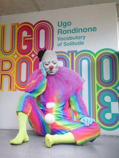Ugo Rondinone Vocabulary of Solitude #Boijmans van Beuningen #Rotterdam #museum #art #kunst #BoijmansvanBeuningen #UgoRondinone #Zwitserland #clowns #kleuren #kleurrijk #regenboog #solitude #eenzaamheid #kunstenaar #expositie #reflectie #creativiteit #24uur #dag