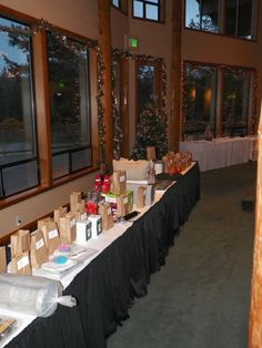 This company had an auction to raise money to help children receive gifts 2013