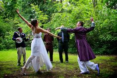 """""""[He said they] must pass the """"Three Trials of Love"""" in order to win our rings. ...[L]astly, we had to do an interpretive dance of our vows."""""""