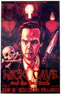 Nick Cave & The Bad Seeds Venue: The Hollywood Palladium – Los Angeles, CA Date: June 18, 2003