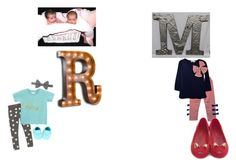 """""""Meeting Momma (Nessie and Melody)"""" by louiseok ❤ liked on Polyvore featuring Sibling, Vintage Marquee Lights and Melissa"""