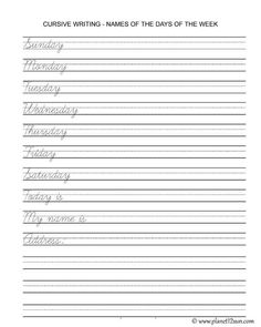 Cursive Worksheets for Kids Cursive Writing Sentences Worksheets Pdf and Cursive Cursive Writing Worksheets Pdf, Handwriting Practice Sentences, Learning Cursive, Cursive Alphabet, Handwriting Analysis, Sentence Writing, Free Printable Worksheets, Alphabet Worksheets, Kindergarten Handwriting