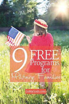 I didn't know about these free programs. #milfam #milspouse