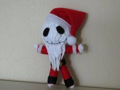 Jack Skellington Santy Clause Voodoo String Doll. $7.00, via Etsy.